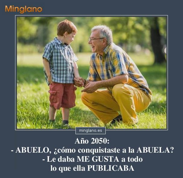 CHISTES GRÁFICOS de ABUELOS y NIETOS
