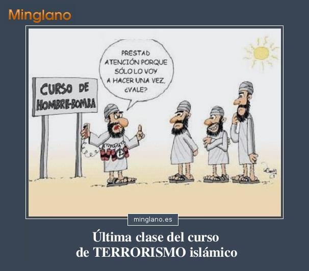CHISTES GRÁFICOS de TERRORISTAS
