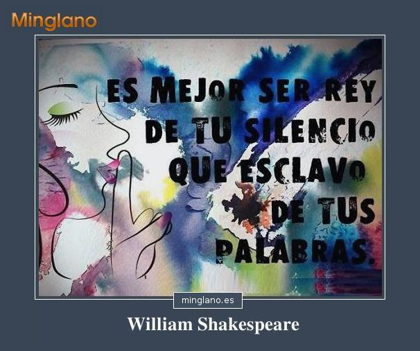 CITAS de WILLIAM SHAKESPEARE