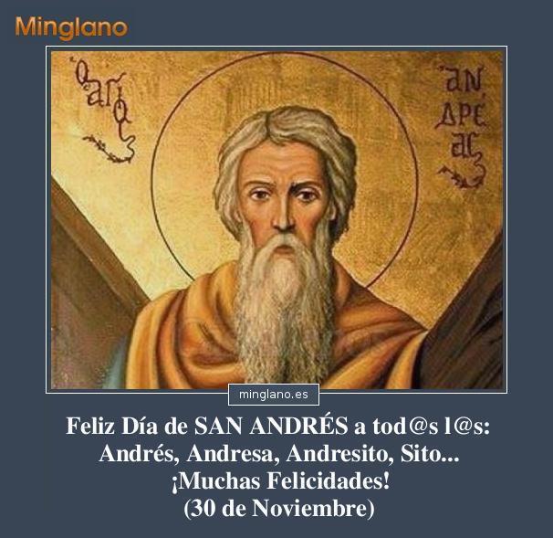 FELICITACIONES para SAN ANDRÉS