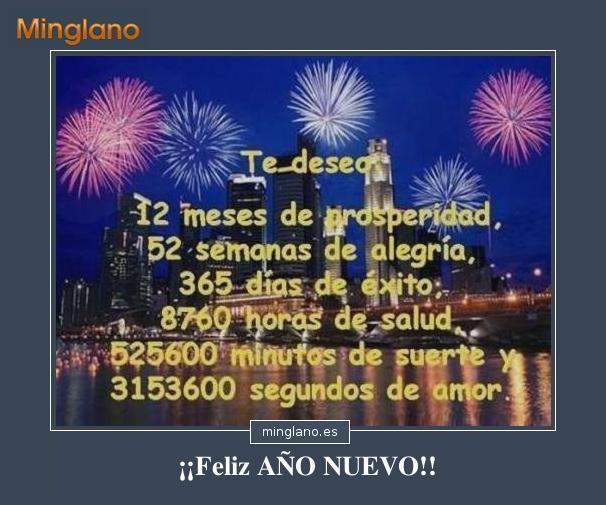 Felicitaciones De Año Nuevo Para Amigas