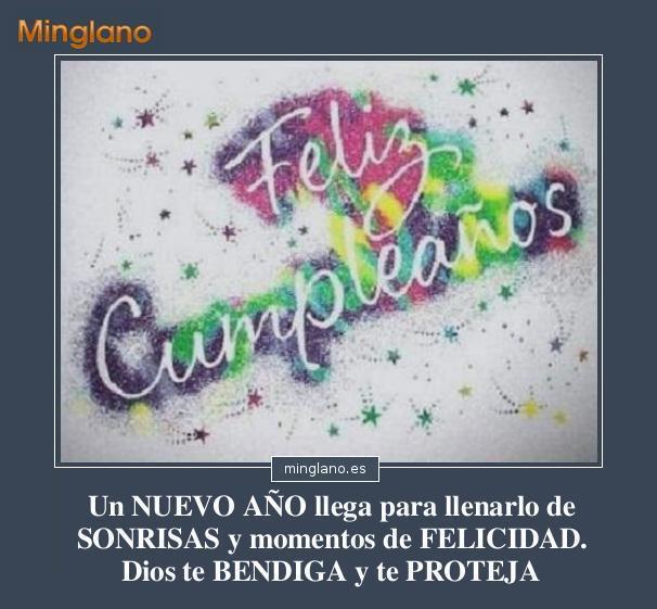 FELICITACIONES de CUMPLEAÑOS SIMPLES
