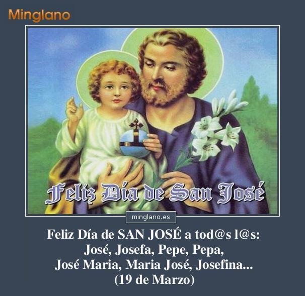 FELICITACIONES y FRASES para el DÍA de SAN JOSÉ