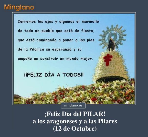 Felicitaciones Para El Día Del Pilar