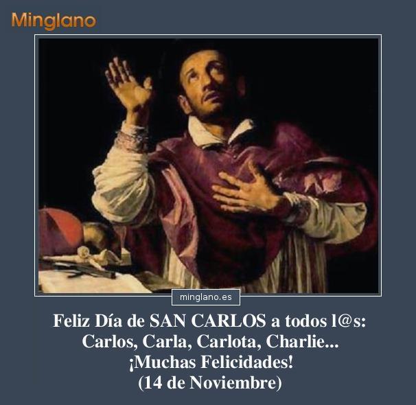 FELICITACIONES para SAN CARLOS