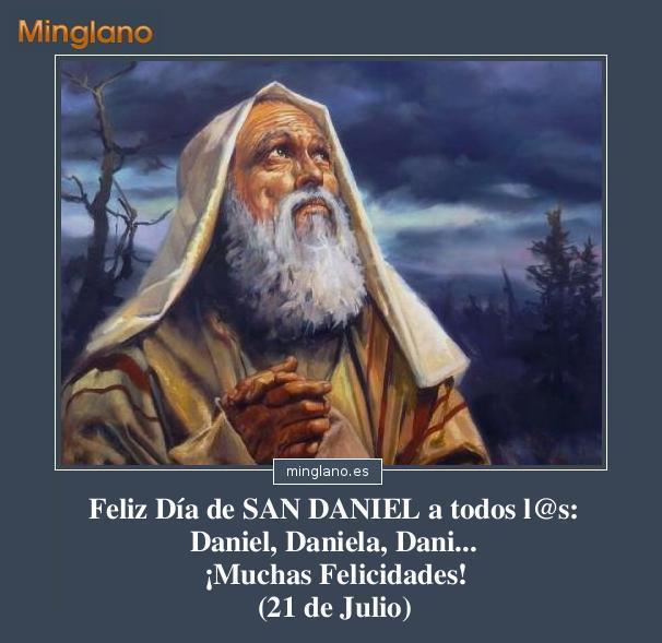 FELICITACIONES para SAN DANIEL