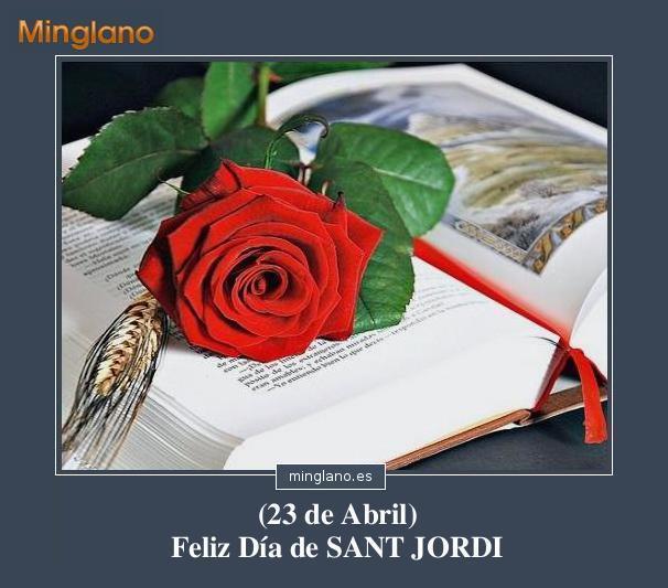 FRASES para FELICITAR SANT JORDI