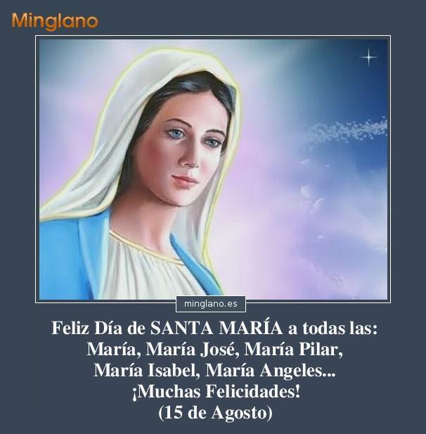 FELICITACIONES para SANTA MARÍA