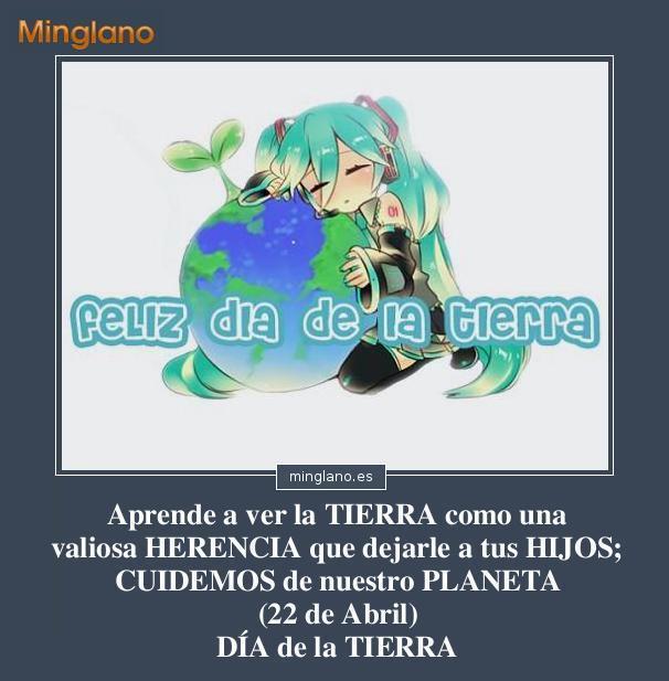 FRASES BONITAS para el DÍA de la TIERRA