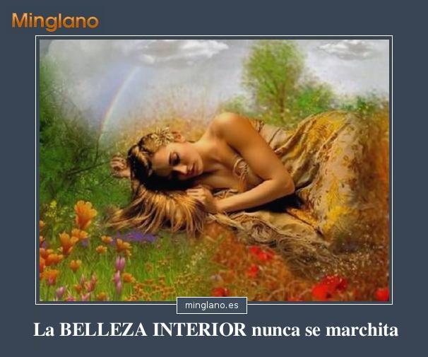 FRASES BONITAS sobre la BELLEZA INTERIOR