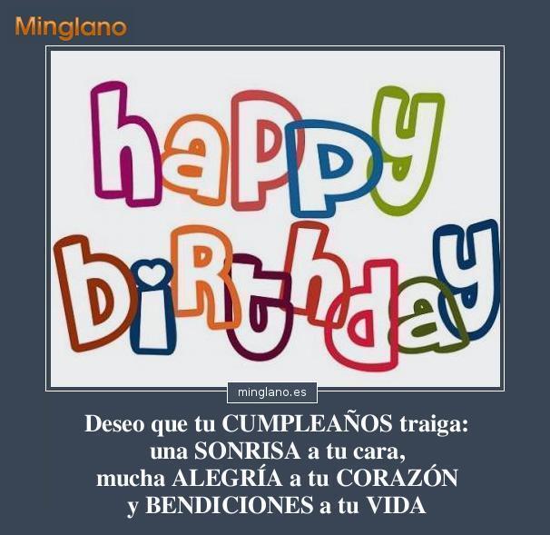 Felicitaciones de cumpleaños con bendiciones