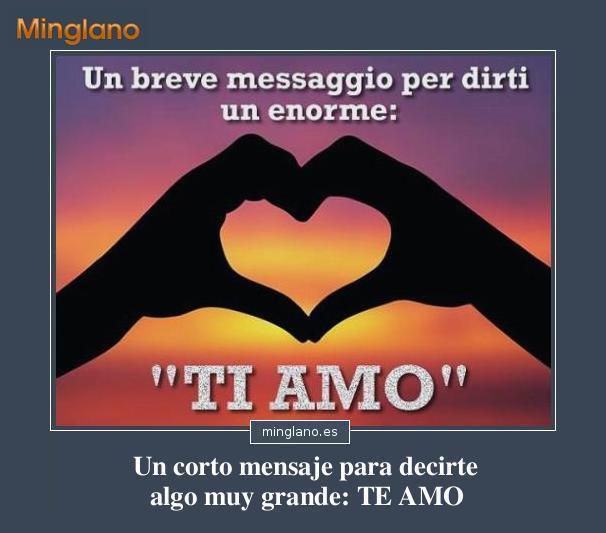 Frases de amor en italiano traducidas al castellano