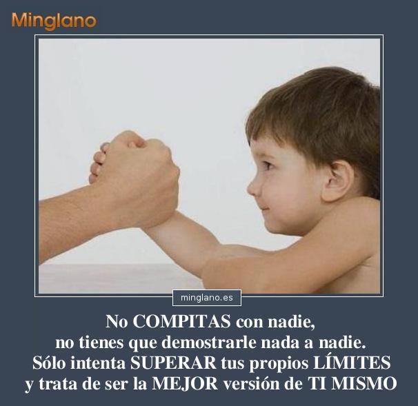 FRASES de COMPETIR con UNO MISMO