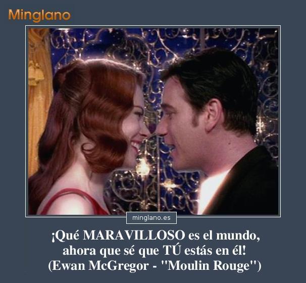Frases de la película Moulin Rouge