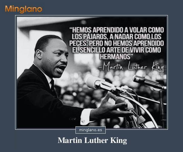 FRASES de MARTIN LUTHER KING sobre la PAZ