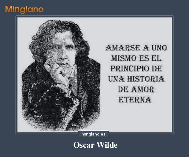 FRASES de OSCAR WILDE en ESPAÑOL