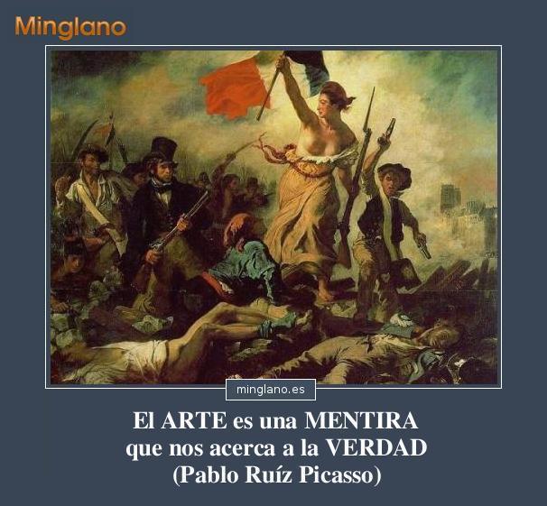 FRASES de ARTISTAS sobre el ARTE