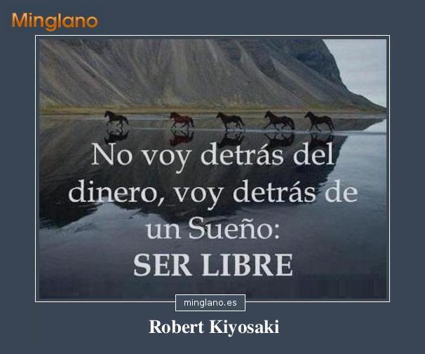 FRASES de ROBERT KIYOSAKI sobre el DINERO