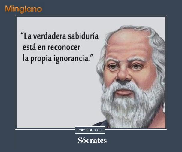 Frases de Sócrates sobre la sabiduría