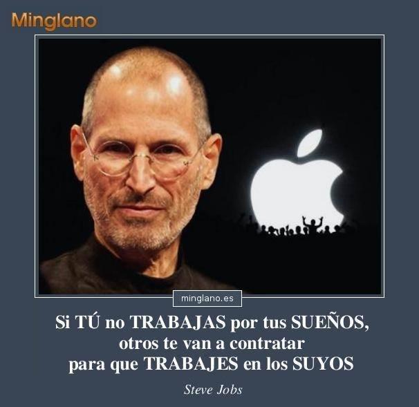 Frases de Steve Jobs sobre los sueños