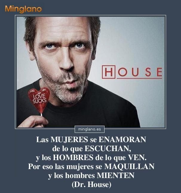FRASES GRACIOSAS DOCTOR HOUSE