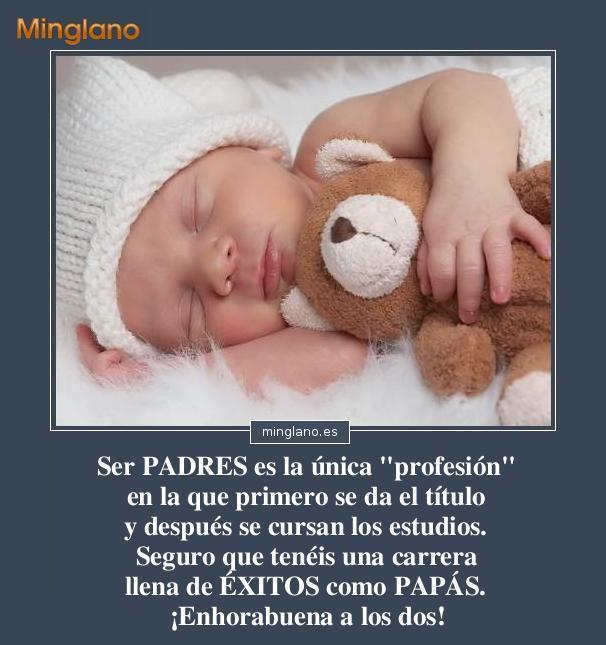 Frases para felicitar a los padres por el nacimiento de su hijo