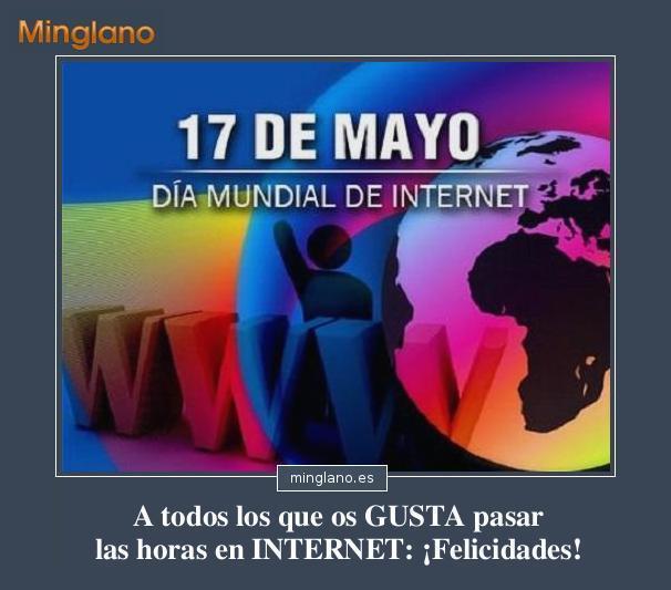 FrRASES para el DÍA MUNDIAL de INTERNET