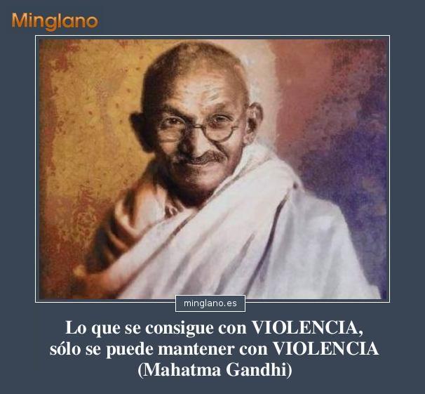 FRASES para los VIOLENTOS