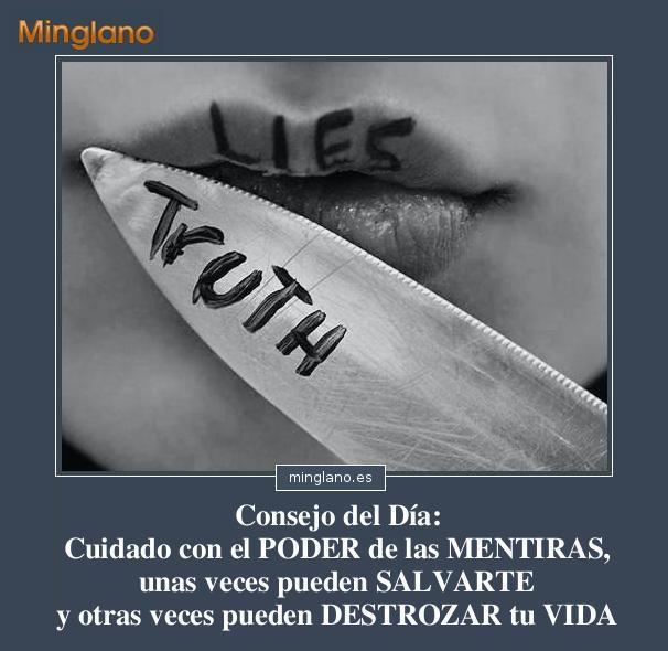 Frases para reflexionar sobre las mentiras