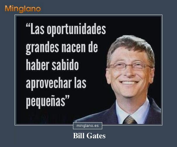 FRASES FAMOSAS de BILL GATES