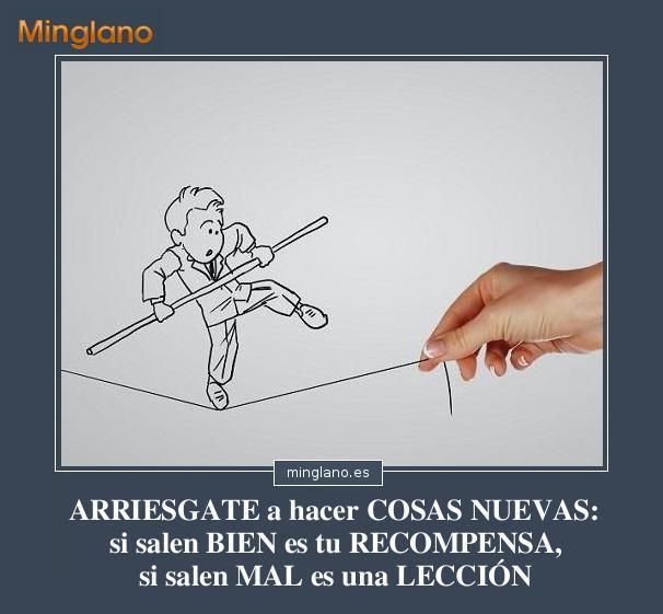 FRASES de ARRIESGARSE a HACER ALGO NUEVO