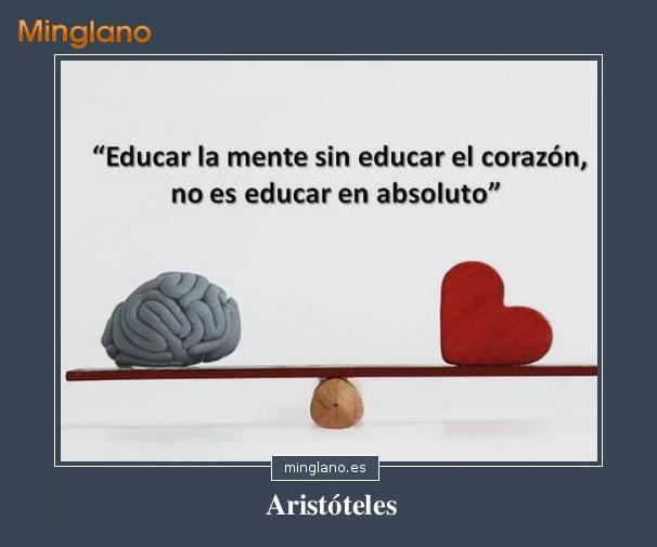 Frases de Aristóteles sobre como educar a los hijos
