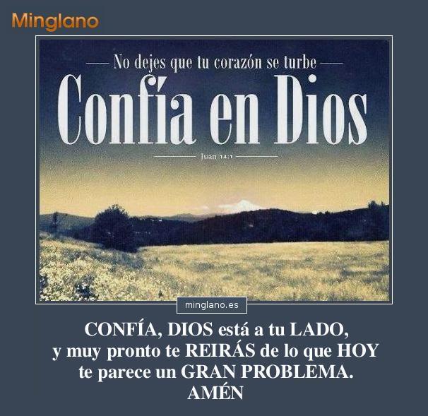 Frases Sobre Confiar En Dios Ante Los Problemas