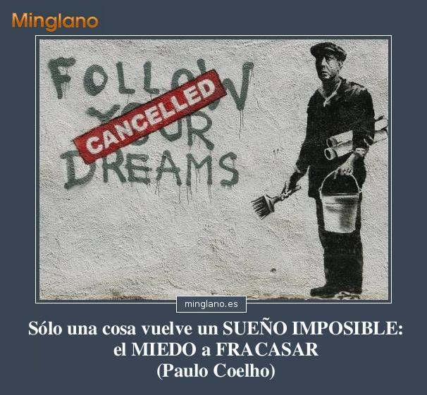 Frases sobre los sueños no cumplidos