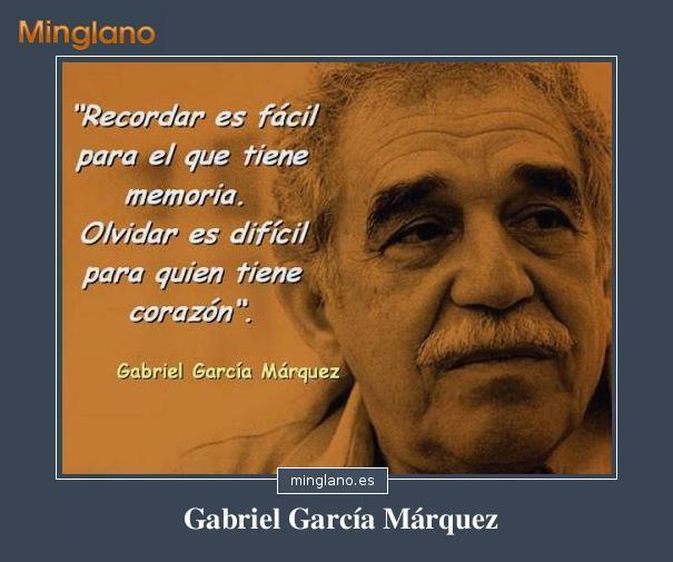 FRASES con IMÁGENES de GABRIEL GARCÍA MÁRQUEZ