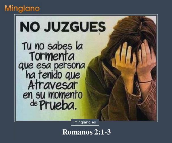FRASES de la BIBLIA sobre JUZGAR a los DEMÁS