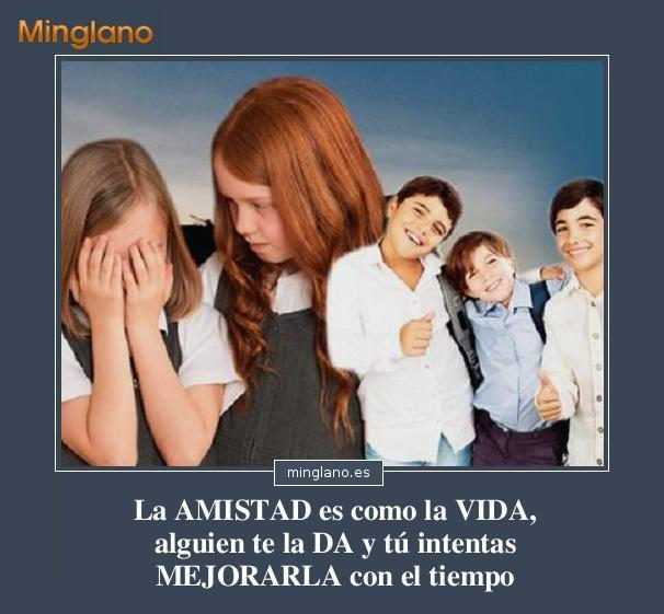 FRASES BONITAS sobre la AMISTAD y la VIDA