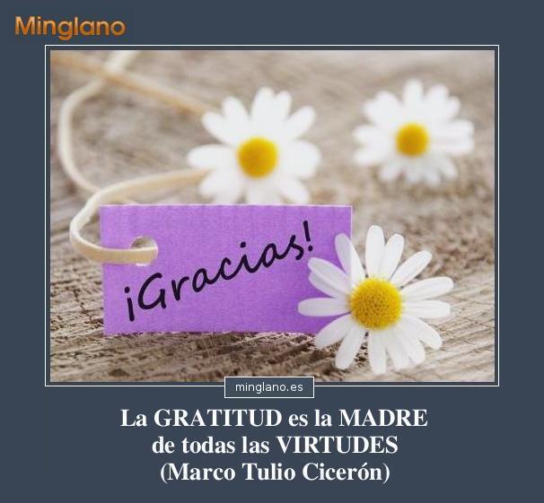 FRASES de la GRATITUD como VALOR