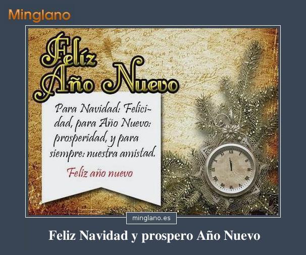FRASES BONITAS de FELIZ NAVIDAD y AÑO NUEVO