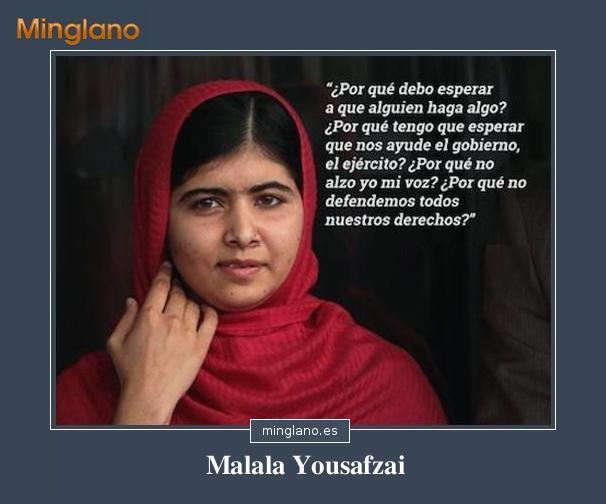 FRASES CÉLEBRES de MALALA YOUSAFZAI