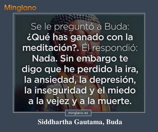 FRASES de BUDA sobre la MEDITACIÓN