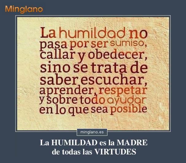 FRASES de la HUMILDAD como VALOR