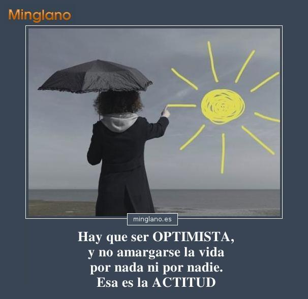 FRASES de SER OPTIMISTAS