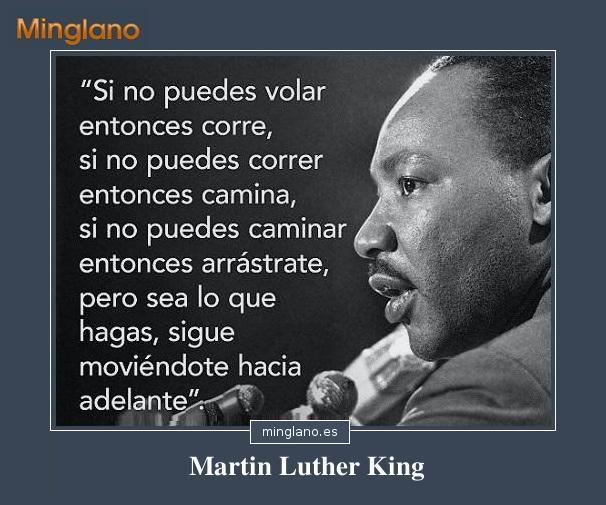 FRASES MOTIVADORAS de MARTIN LUTHER KING