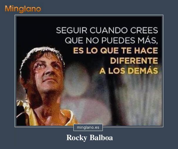 FRASES MOTIVADORAS de ROCKY BALBOA