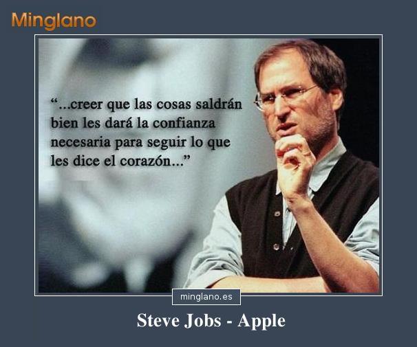 FRASES MOTIVADORAS de STEVE JOBS