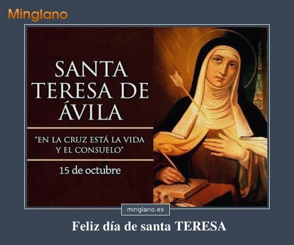 Frases Bonitas De Santa Teresa De Jesus Klewer P