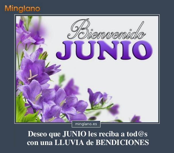 FRASES para RECIBIR el MES de JUNIO