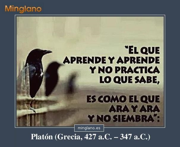 Frases De Platón Sobre El Aprendizaje