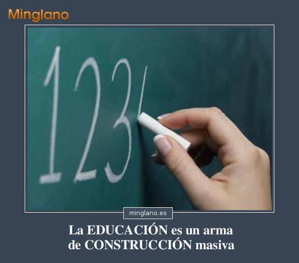 FRASES BONITAS sobre la EDUCACIÓN
